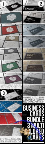 GraphicRiver - BUSINESS CARDS BUNDLE