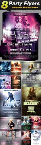 GraphicRiver - Sevenstyles Poster & Flyer Templates Bundle (Pack 7)