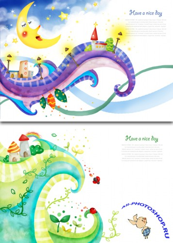 Childrens PSD Sources - Dreamland #2