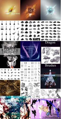 Collection Brushes for Photoshop pack 7