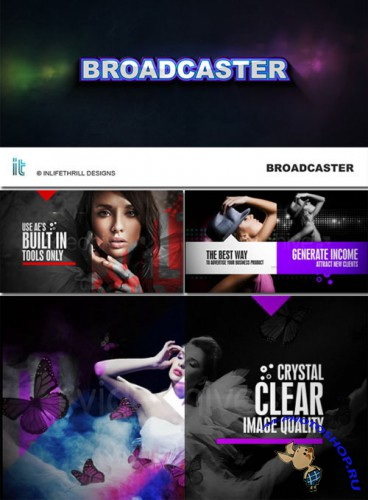 Videohive - BroadCaster - Project for After Effects