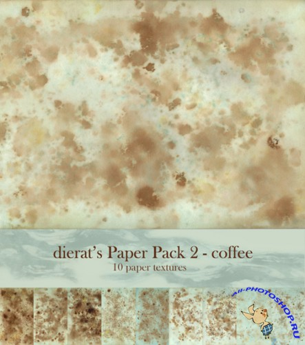 Paper Pack 2 by dierat - Coffee