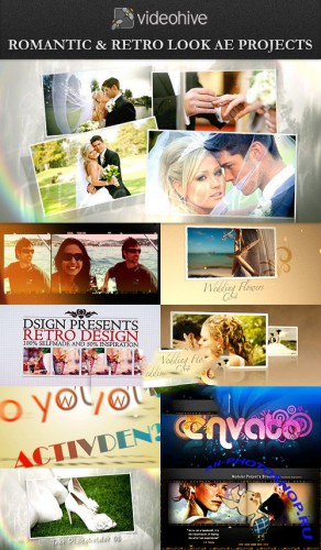VideoHive Retro Look and Wedding After Effects Projects