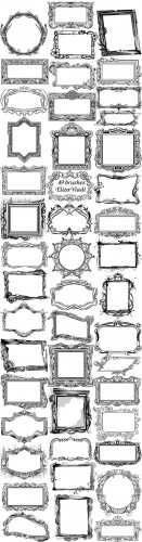 gorgeous frames brushes