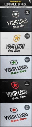 GraphicRiver - Photorealistic Logo Mock-Up Pack