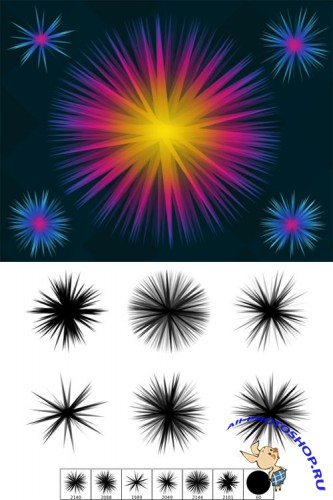 Star Brushes for PS