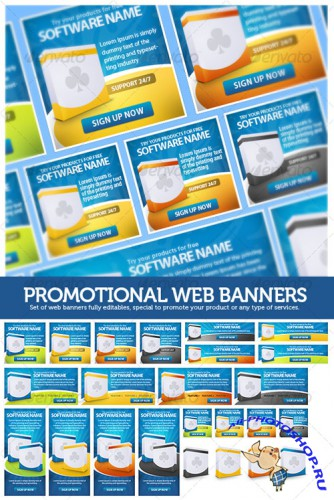 GraphicRiver - Promotional Web Banners