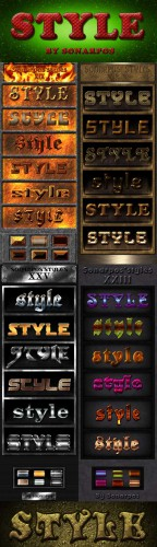 Text Styles for Photoshop pack # 3