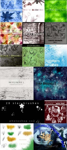 Collection Brushes for Photoshop pack 11