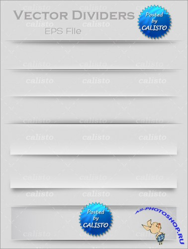 Vector Dividers Template
