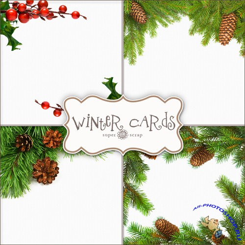 Textures - Christmas Backgrounds #26