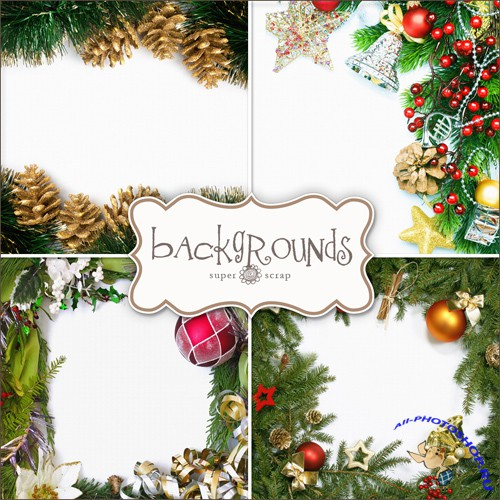 Textures - Christmas Backgrounds #24
