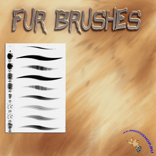 Fur Brushes