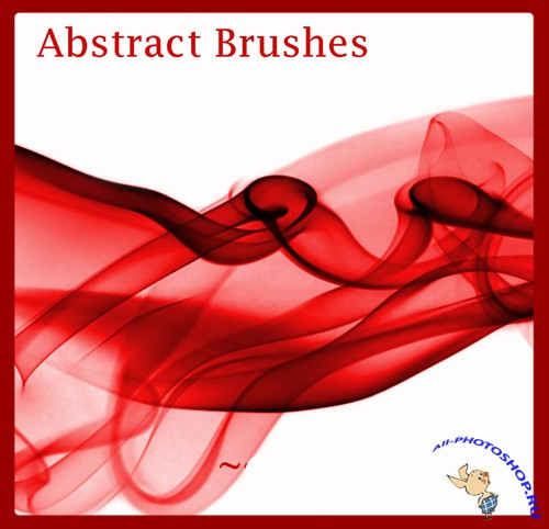 Brushes set - Abstract