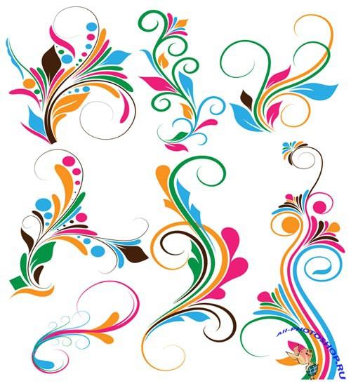 графическое изображение цветов: