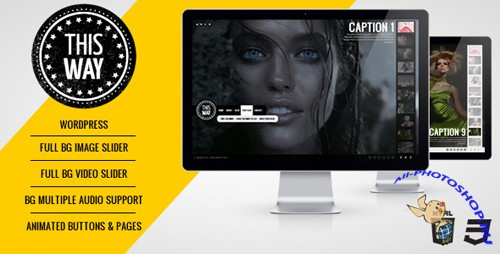 ThemeForest - This Way WP Full Video/Image Background with Audio