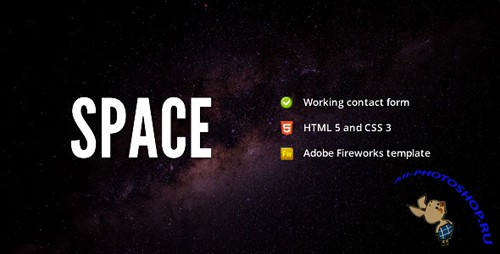 ThemeForest - Space - Minimalist Portfolio Template - Rip