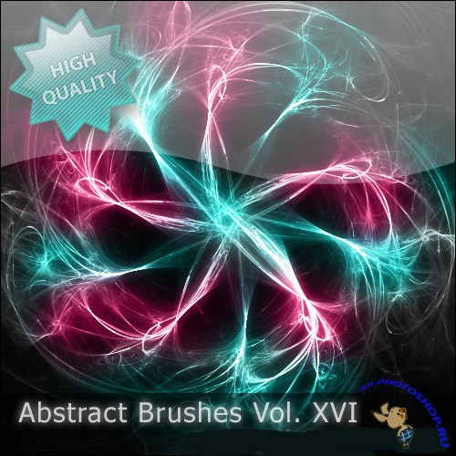Brushes Abstract set vol 16