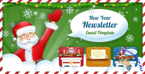ThemeForest - Exclusive New Year Newsletter - Rip