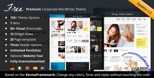 ThemeForest - Free - A Premium Theme v1.3 for Wordpress 3.x