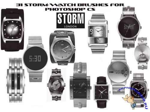 Brushes set - Storm Watch