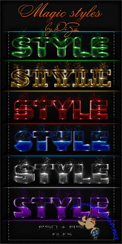 Photoshop Magic styles