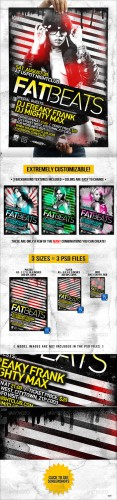 GraphicRiver - Dirty Flyer and Poster // Extremely Adjustable