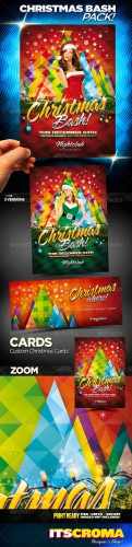 GraphicRiver - Christmas Bash Party Flyer Pack