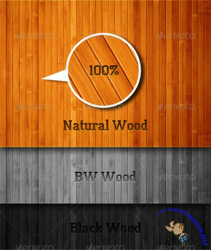 GraphicRiver - Linear Wood Texture