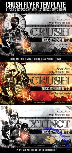 GraphicRiver - Crush Flyer Template (REUPLOAD)
