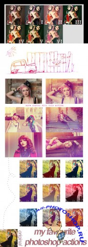 Cool Photoshop Action pack 101