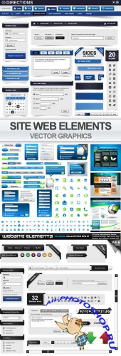 Design Vector Web Elements
