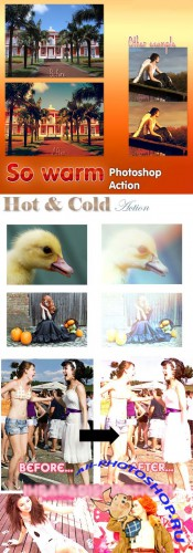 Cool Photoshop Action pack 104