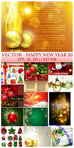 Vector Happy New Year 10