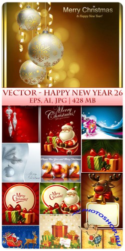 Vector Happy New Year 26