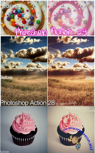 Cool Photoshop Action pack 106