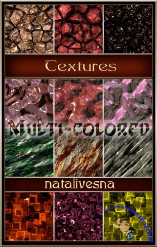 �������� � ������������ 2 / Textures multi-colored 2