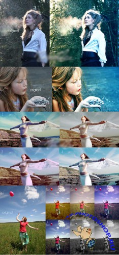 Cool Photoshop Action pack 114