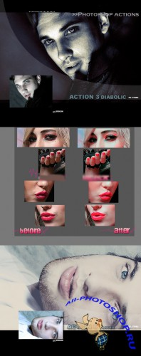 Cool Photoshop Action pack 115