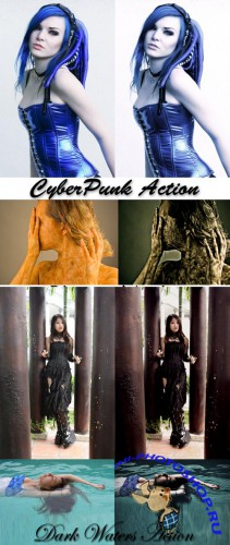 Сool Photoshop Action pack 121