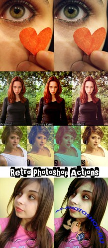 Сool Photoshop Action pack 125