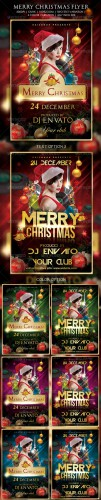 GraphicRiver - Merry Christmas Flyer