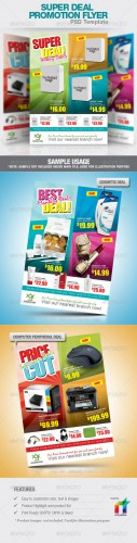 GraphicRiver - Super Deal Promotion Flyer PSD Template