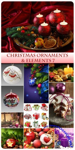 Christmas Ornaments and  Elements 7