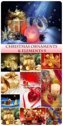 Christmas Ornaments and  Elements 5