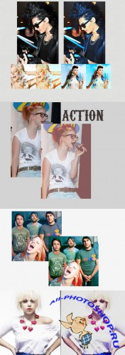 Cool Photoshop Action pack 157