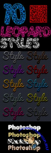 Text Layer styles for Photoshop pack 6