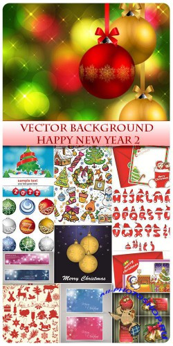 Vector Happy New Year 2