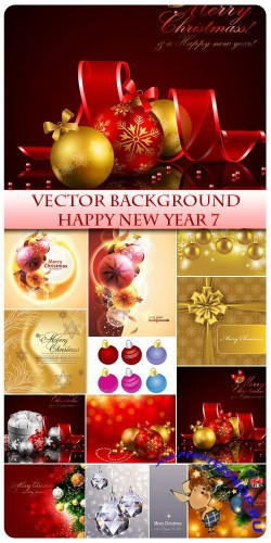Vector Happy New Year 7