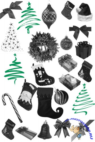 Brushes  Christmas  Collections for Photoshop